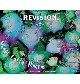 Revision 'Whole Lotta Ruckus' New England-style DIPA 16oz (Can)