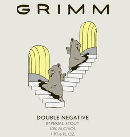 Grimm Artisanal Ales 'Double Negative' Imperial Stout 500ml