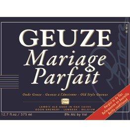 Boon 'Geuze Mariage Parfait' Oude Geuze 375ml