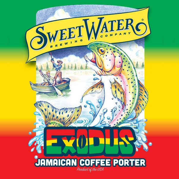 Sweetwater 'Exodus' Jamaican Coffee Porter 12oz (Can)