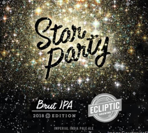 Ecliptic 'Star Party' Brut IPA 500ml