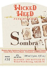 Wicked Weed 'Sombra' Barrel-aged Sour Ale 500ml