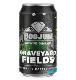 Boojum Brewing Co. 'Graveyard Fields' Blueberry Coffee Porter 12oz (Can)