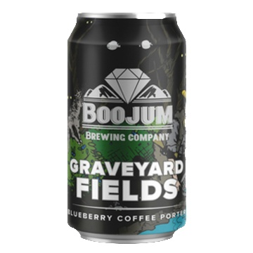 Boojum Brewing Co. 'Graveyard Fields' Blueberry Coffee Porter 12oz (Can)