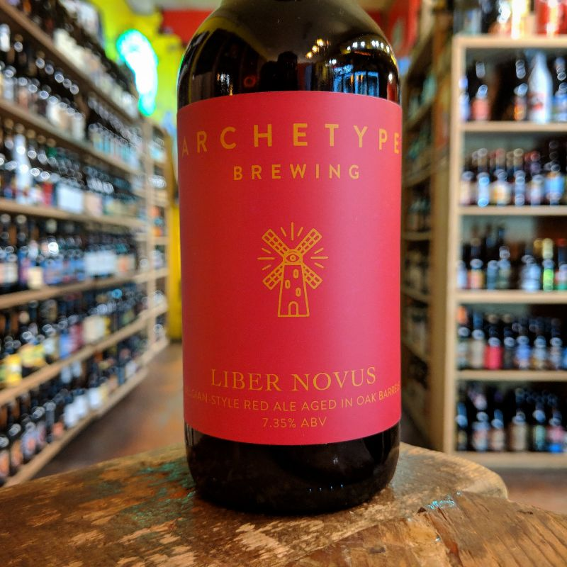 Archetype 'Liber Novus' Belgiand Red Ale aged in Red Wine Barrels 375ml