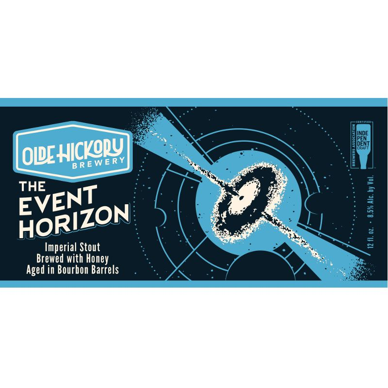 Olde Hickory Brewery 'Event Horizon 2018' 12oz Sgl
