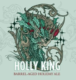 Green Man Brewery 'Holly King' Barrel-aged Holiday Ale 12oz Sgl