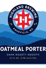 Highland 'Oatmeal Porter' 12oz Sgl
