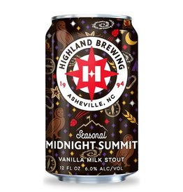 Highland 'Midnight Summit' Vanilla Milk Stout 12oz (Can)