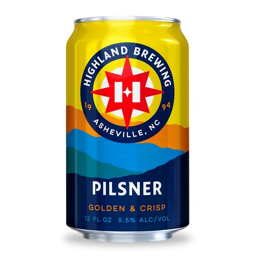 Highland 'Pilsner' 12oz (Can)