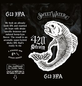 Sweetwater 'G13 420 Strain' IPA 16oz (Can)