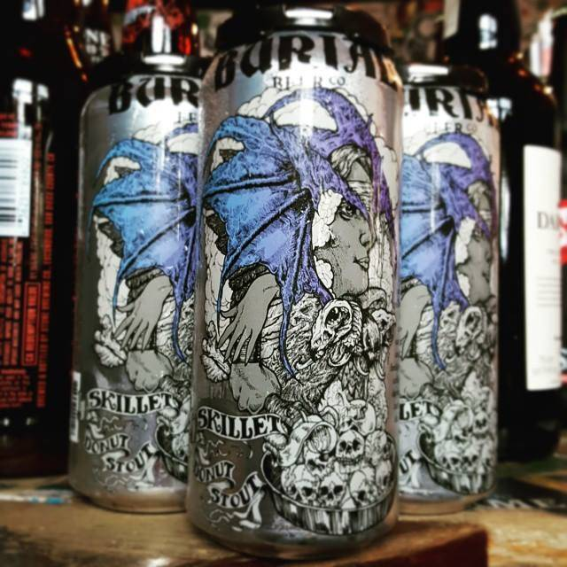 Burial 'Skillet Donut' Stout 16oz (Can)