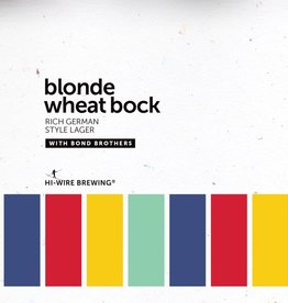 Hi-Wire Brewing 'Blonde Wheat Bock' 16oz (Can)
