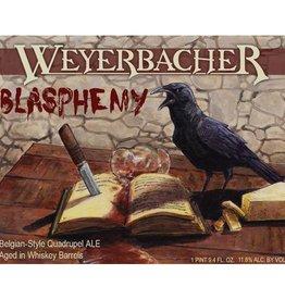 Weyerbacher 'Blasphemy' Belgian-style Quadrupel Ale 750ml