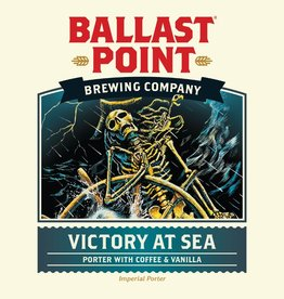 Ballast Point Brewing Co. 'Victory at Sea' Imperial Porter w/ Coffee & Vanilla 12oz Sgl
