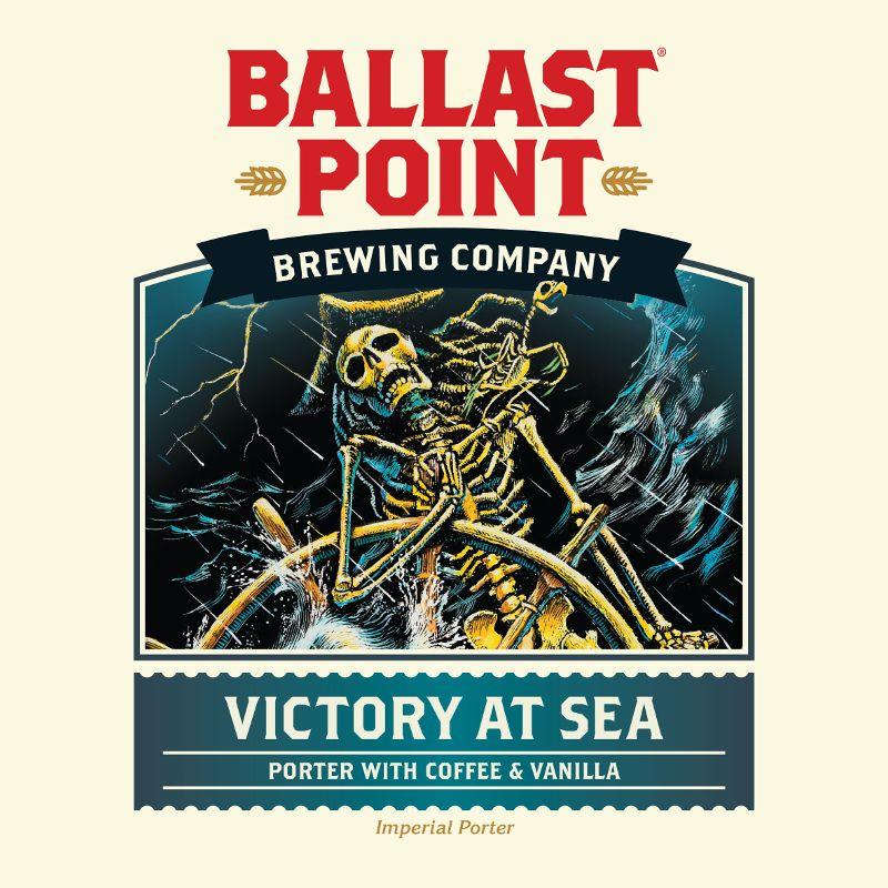Ballast Point Brewing Co. 'Victory at Sea' Imperial Porter w/ Coffee & Vanilla 12oz Sgl