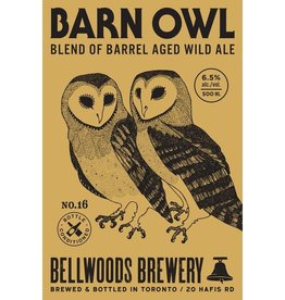 Bellwoods 'Barn Owl No. 16' 500ml