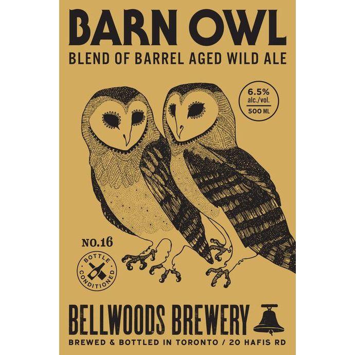 Bellwoods 'Barn Owl No. 16' 500ml