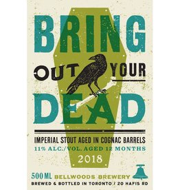 Bellwoods 'Bring Out Your Dead 2018' Barrel-aged Imperial Stout 500ml