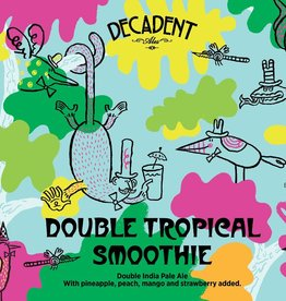 Decadent Ales 'Double Tropical Smoothie' IPA 16oz (Can)