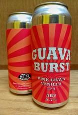 Heist 'Pink Guava Burst' Pink Guava Vanilla IPA 16oz (Can)
