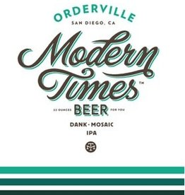Modern Times 'Orderville' Hazy IPA 16oz (Can)