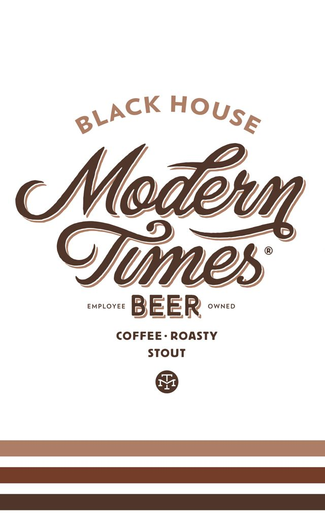 Modern Times 'Black House' Stout 16oz (Can)