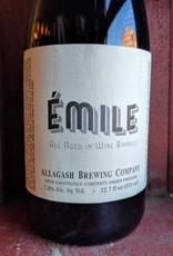 Allagash Brewing Co. 'Emile' Ale Aged in Wine Barrels 375ml