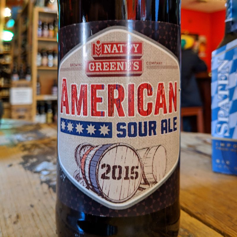 Natty Greene's Cellar Series 'American Sour' 2015 750ml