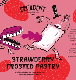 Decadent Ales 'Strawberry Frosted Pastry' IPA 16oz (Can)