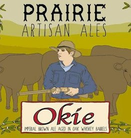 PRAIRIE Artisan Ales 'Okie' Barrel Aged Imperial Brown 12oz Sgl