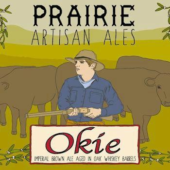 PRAIRIE Artisan Ales 'Okie' Barrel Aged Imperial Brown 12oz Sgl