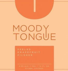 Moody Tongue 'Peeled Grapefruit Pilsner' 12oz Sgl