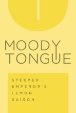 Moody Tongue 'Steeped Emperors Lemon Saison' 12oz Sgl