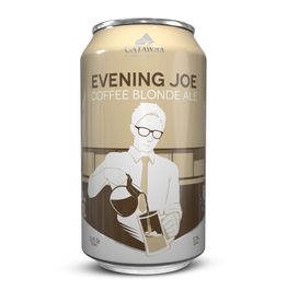 Catawba 'Evening Joe' Coffee Blonde Ale 12oz (Can)