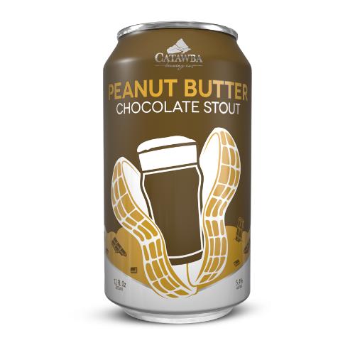 Catawba 'Peanut Butter Chocolate Stout' 16oz (Can)