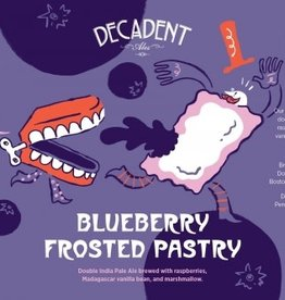 Decadent Ales 'Blueberry Frosted Pastry' 16oz (Can)