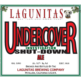 Lagunitas 'Undercover Investigation Shutdown' 12oz Sgl