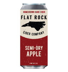 Flat Rock Cider Company 'Semi Dry Apple' 16oz (Can)