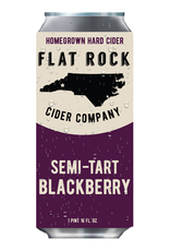 Flat Rock Cider Company 'Semi Tart Blackberry' 16oz (Can)