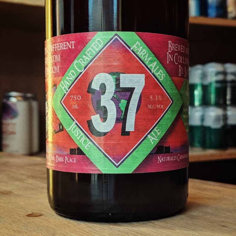 Sideways Farm & Brewery x Citizen Cope 'Justice Ale' 750ml
