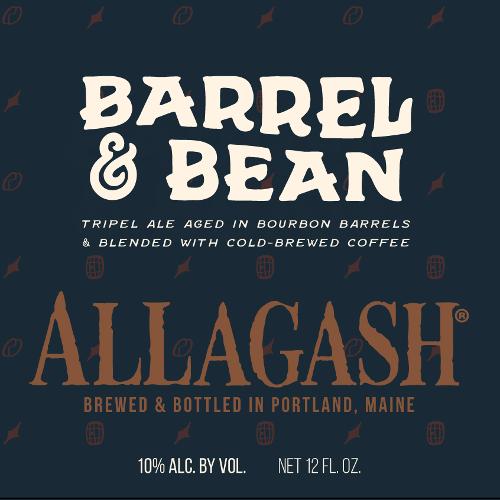 Allagash Brewing Co. 'Barrel & Bean' Barrel-aged Ale 12oz Sgl
