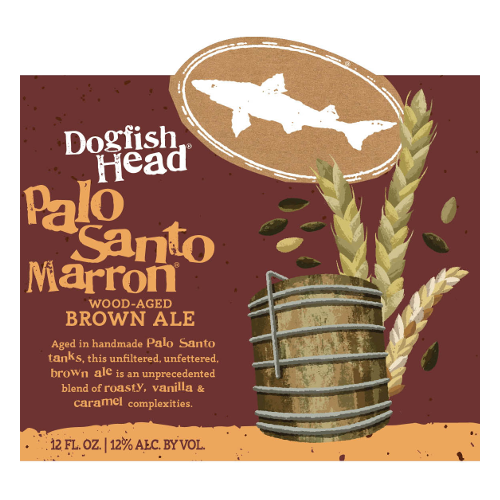Dogfish Head 'Palo Santo Marron' Wood Aged Brown Ale 12oz Sgl