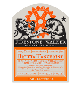 Firestone Walker 'Bretta Tangerine' 375ml