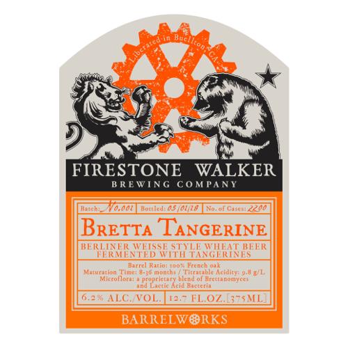 Firestone Walker 'Bretta Tangerine' 375ml