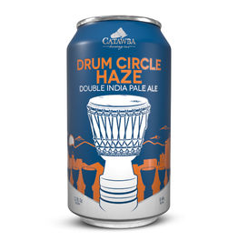 Catawba 'Drum Circle Haze' DIPA 12oz (Can)