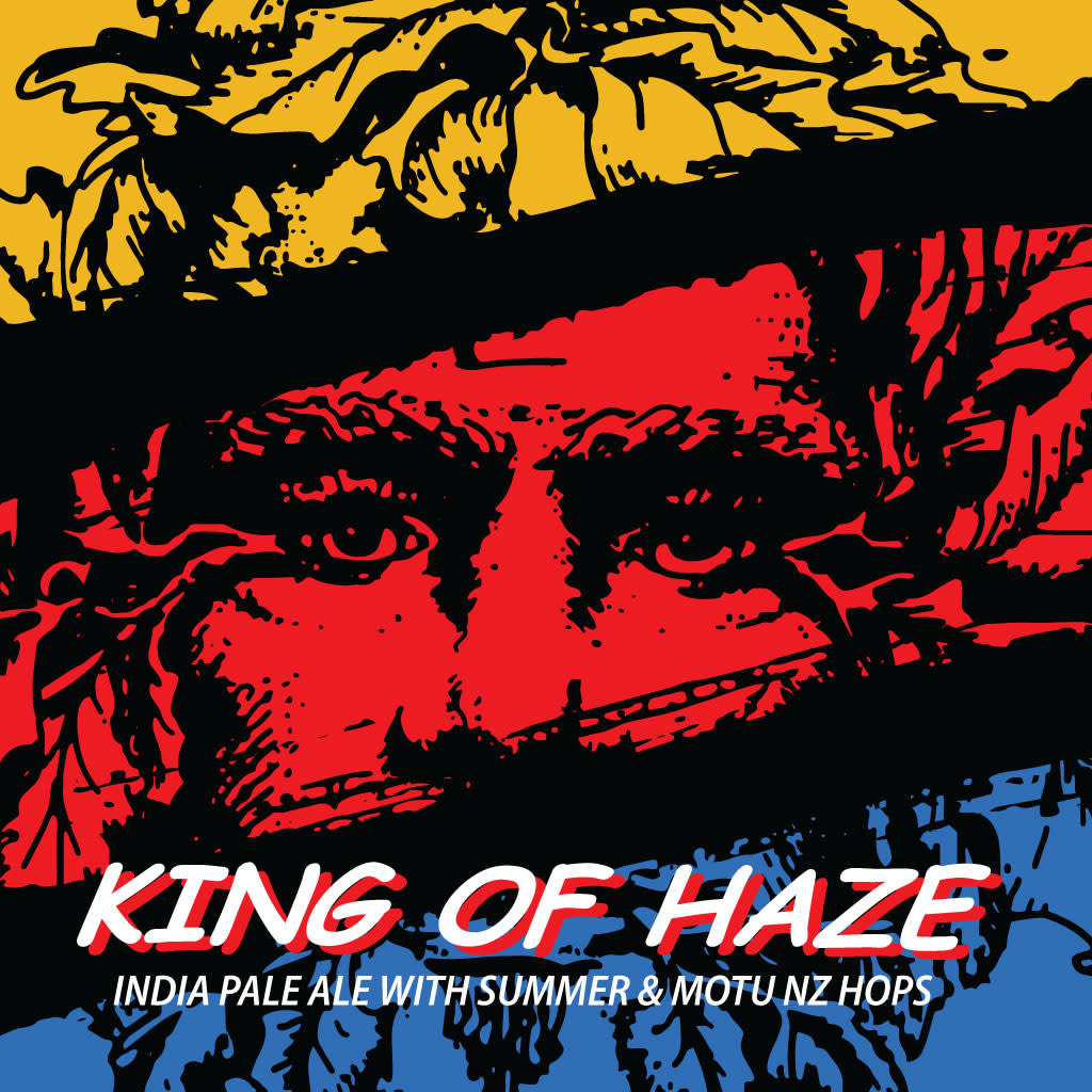 Green Man Brewery 'King of Haze' 16oz (Can)