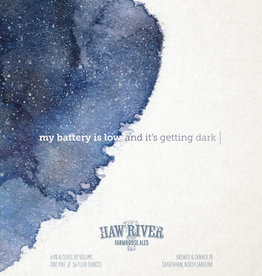 Haw River Farmhouse Ales 'My Battery Is Low And It's Getting Dark' IPA 16oz (Can)