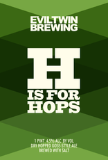 Evil Twin Brewing 'H is for Hops' Gose 16oz (Can)