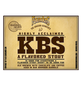 Founders Brewing Co. 'KBS' Imperial Stout 12oz Sgl